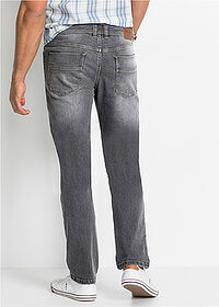 Regular Fit sztreccsfarmer Straight sötét denim John Baner JEANSWEAR 2