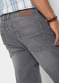 Regular Fit sztreccsfarmer Straight sötét denim John Baner JEANSWEAR 5