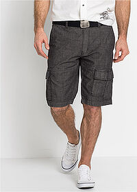 Cargo-bermuda Loose Fit fekete bpc selection 1