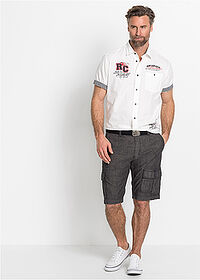 Cargo-bermuda Loose Fit fekete bpc selection 3