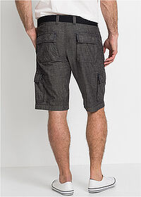 Cargo-bermuda Loose Fit fekete bpc selection 2