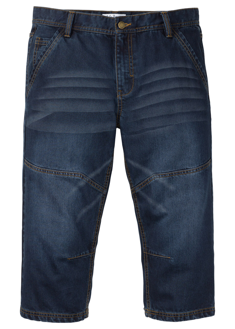 Джинсы 3/4 Regular Fit Tapered от bonprix