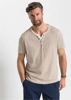 T-shirt henley w optyce 2 w 1 bpc selection 29