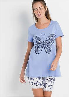 Piżama z kolarkami-bpc bonprix collection