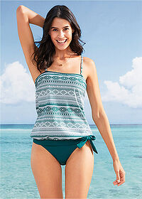 Tankini (2 piese/set) verde/alb bpc bonprix collection 1