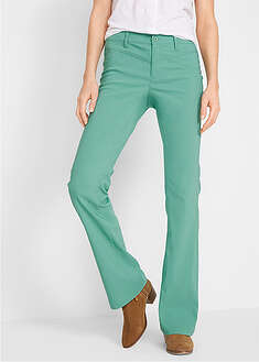 Pantaloni stretch bootcut, din bengalină bpc bonprix collection 40
