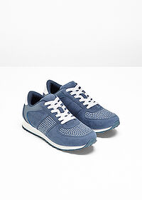 Sneakers albastru denim bpc selection 3