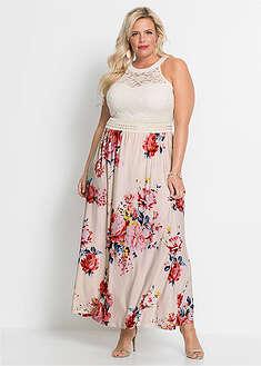 1bd07831605b Letné šaty s kvetinovou potlačou a čipkou BODYFLIRT boutique 34