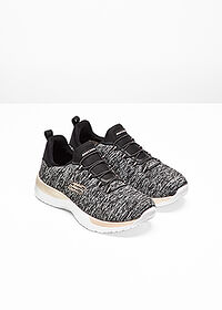 Skechers szabadidőcipő fekete melírozott • 17999.0 Ft • bonprix