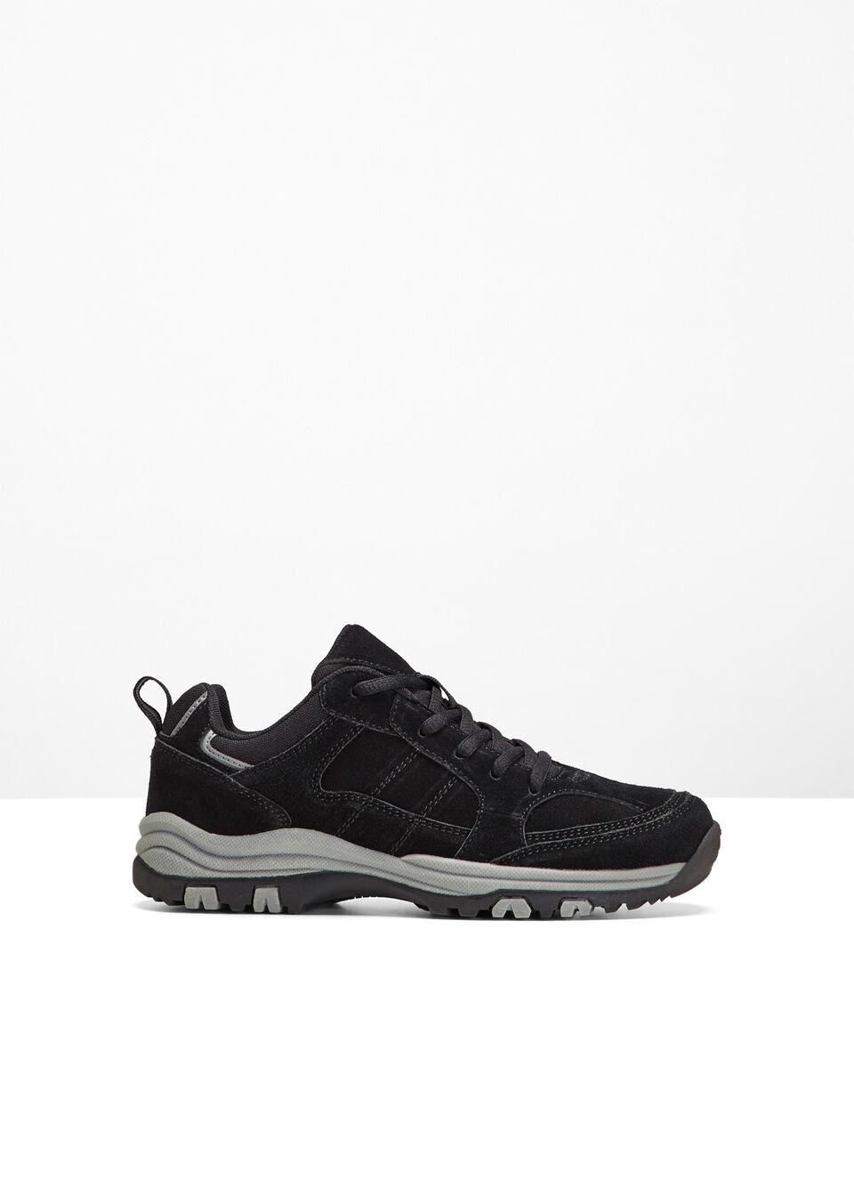 064782396c38a Turistická obuv z kože čierna Na • 24.99 € • bonprix