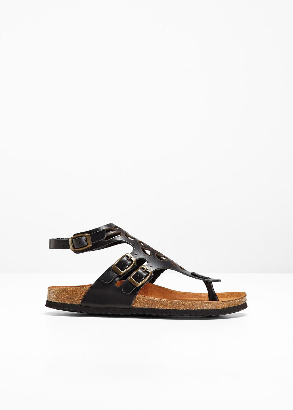 Удобные кожаные сандалии от bonprix