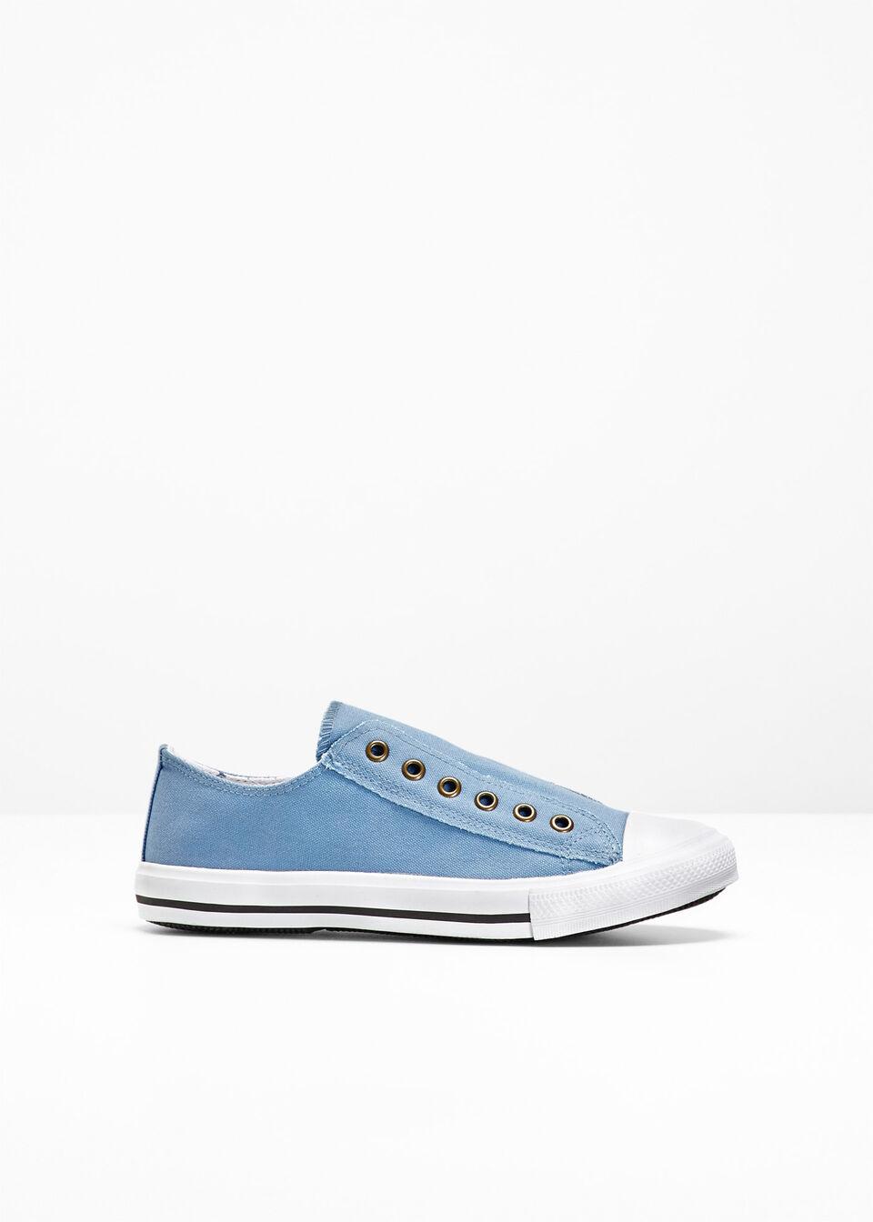 Sneakersy bonprix Sneakersy niebieski dżins