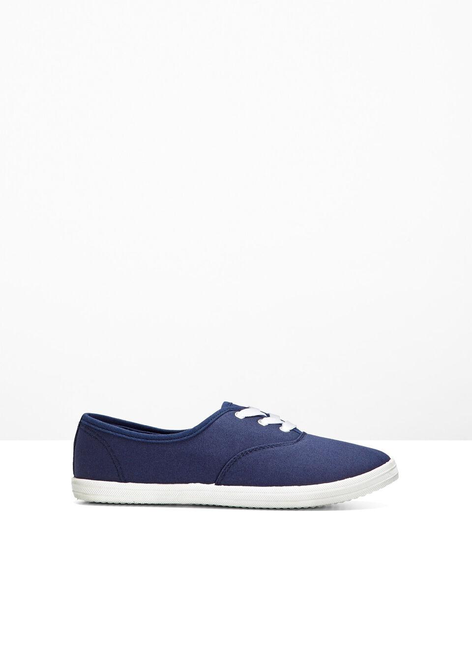Sneakersy bonprix niebieski dżins