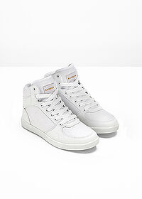 Ghete casual alb RAINBOW 3