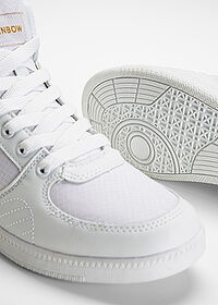 Ghete casual alb RAINBOW 5