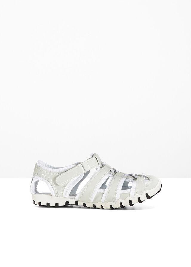 Buty sportowe białe rozm.38 na rzepy na wąską stopę Wola