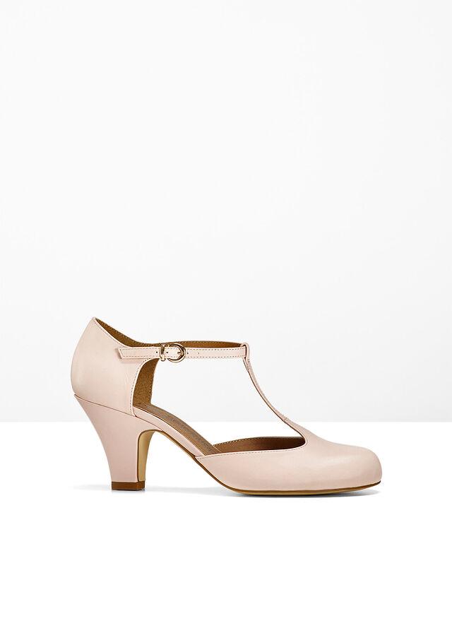 81a9561d85 Pántos bőrcipő rózsaszín Nagyon csinos • 11999.0 Ft • bonprix