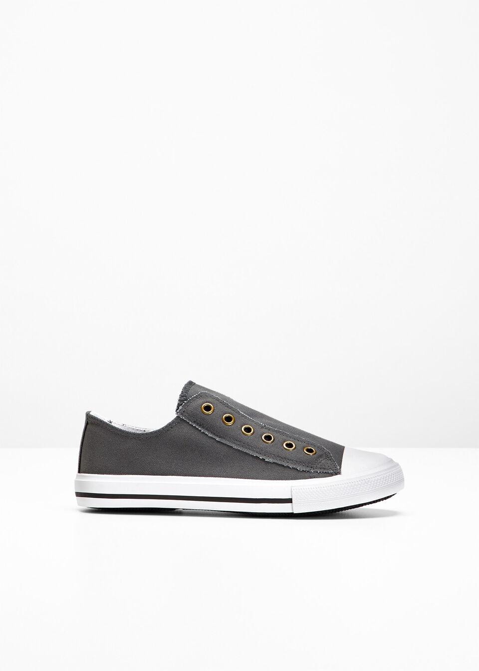 Sneakersy bonprix Sneakersy antracytowy