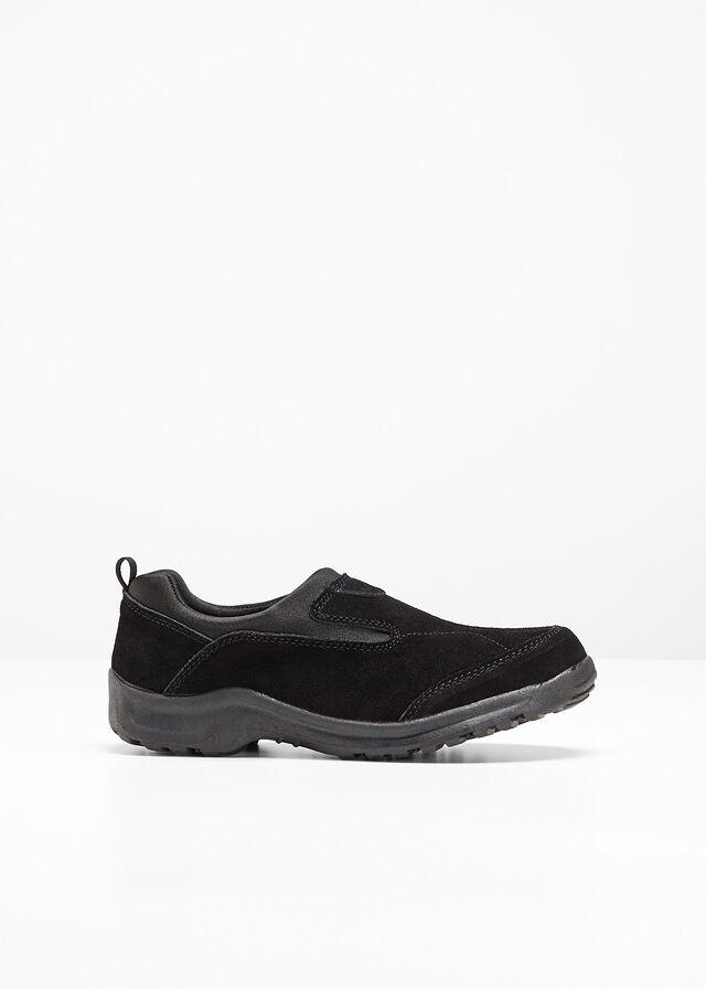 25b66902c7e0 Kožené topánky čierna Elegantný strih a • 24.99 € • bonprix