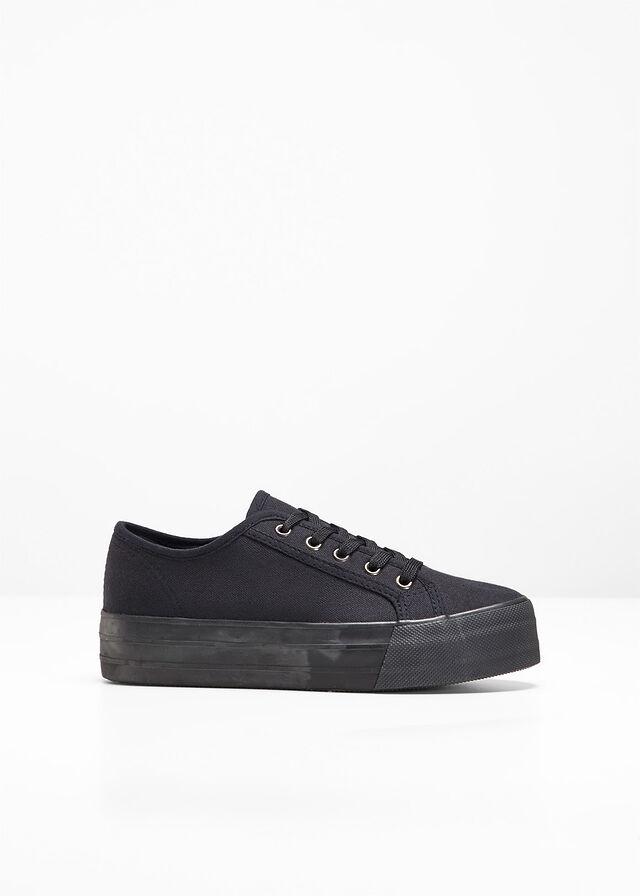 secțiune specială sosesc ultima moda Pantofi cu talpă platou negru Încălţări • 89.9 lei • bonprix