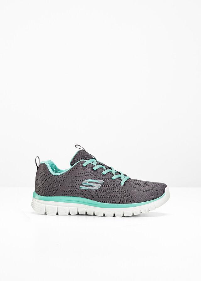 Sneakersy Skechers z pianką Memory