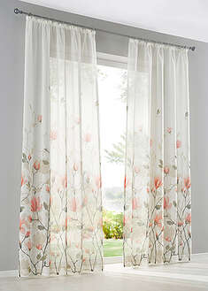Perdea cu print floral (1buc/pac)-bpc living bonprix collection
