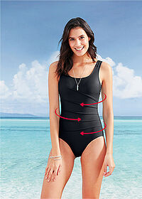 Costum de baie shape nivel 1 negru bpc bonprix collection 1