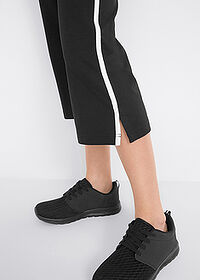 Pantaloni sport 3/4 capri, nivel 1 negru bpc bonprix collection 4