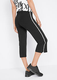 Pantaloni sport 3/4 capri, nivel 1 negru bpc bonprix collection 2