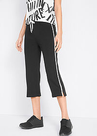 Pantaloni sport 3/4 capri, nivel 1 negru bpc bonprix collection 1