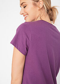 Tricou decolteu rotund (5buc.) smarald/mov/fucsia/mentă/alb bpc bonprix collection 4