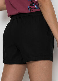 Short din in negru BODYFLIRT 5