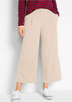 Pantaloni stretch 7/8, loose fit bpc bonprix collection 22