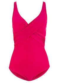 Costum baie shape, nivel 3 fucsia bpc bonprix collection 0