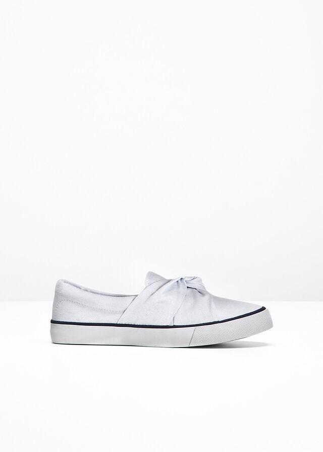 1c0bb6f6ae Buty wsuwane biały Buty wsuwane z • 74.99 zł • bonprix