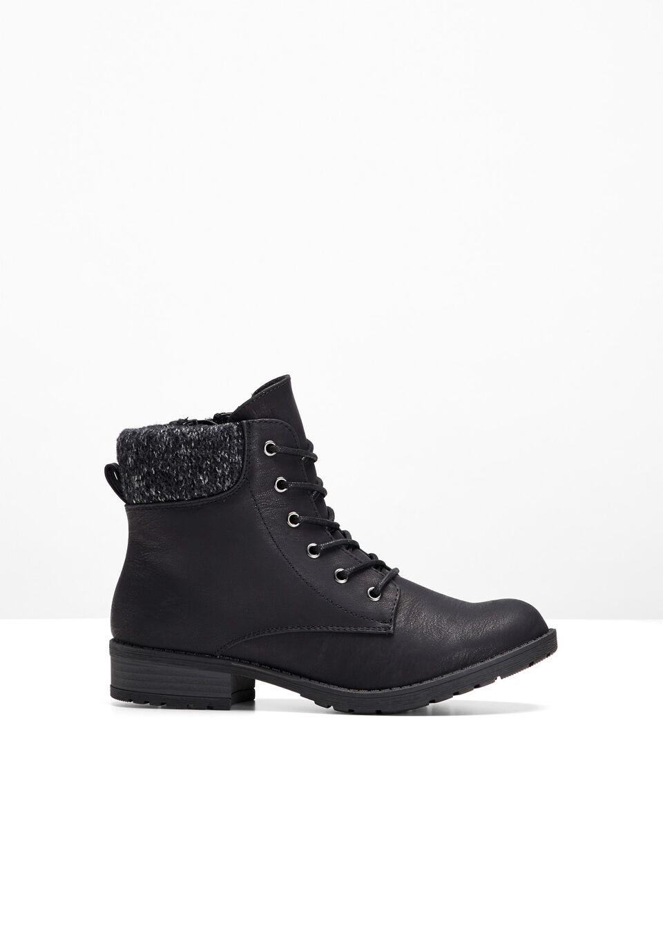 81fcf98d7 Krátke čižmy čierna Čižmy na šnurovanie • 27.99 € • bonprix