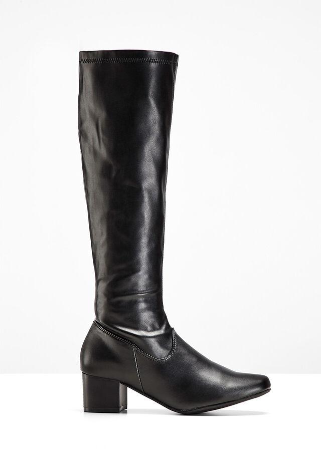 Čižmy čierna Pohodlne elegantné • 34.99 € • bonprix 07e04ab97d8