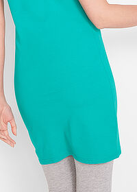 Rochie stretch verde oceanic bpc bonprix collection 5