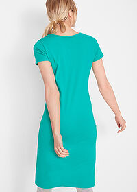 Rochie stretch verde oceanic bpc bonprix collection 2