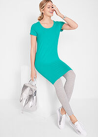 Rochie stretch verde oceanic bpc bonprix collection 3
