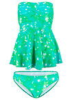 Costum baie Tankini (2piese) verde bpc bonprix collection 12