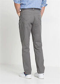 Pantaloni drepţi Regular Fit gri fumuriu bpc bonprix collection 2