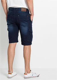 Regular Fit sztreccs farmer bermuda sötétkék denim John Baner JEANSWEAR 2