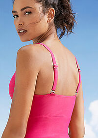 Costum baie shape, nivel 3 fucsia bpc bonprix collection 4