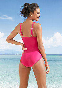 Costum baie shape, nivel 3 fucsia bpc bonprix collection 2