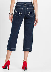 Jeans stretch 3/4 bleumarin stone bpc selection 2
