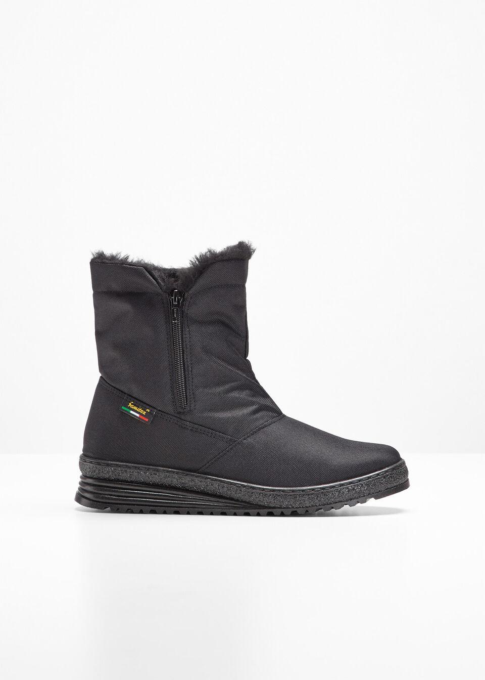 încălţăminte îmbrăcăminte sport de performanță coduri promoționale Cizme de iarnă negru Cizme confortabile • 219.9 lei • bonprix