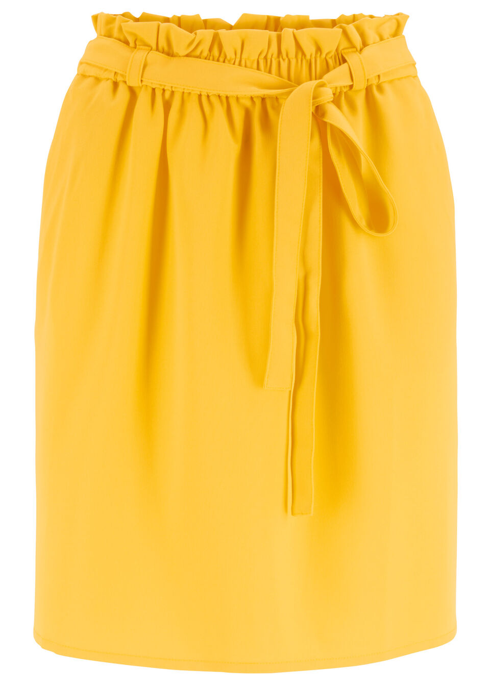 Присборенная юбка с поясом от bonprix
