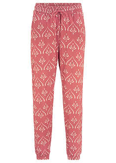 Pantaloni din jerse cu imprimeu-bpc bonprix collection