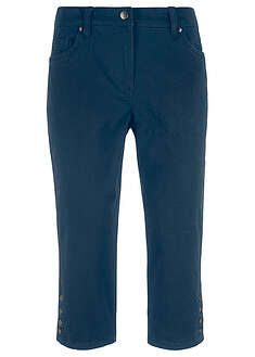 Pantaloni capri cu nasturi bpc bonprix collection 18